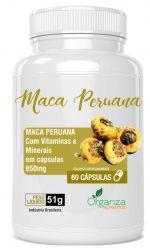 MACA PERUANA - 60 CPS
