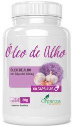 ÓLEO DE ALHO - 60 CPS
