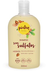 SHAMPOO NATURAL PIATAN HIDRATA - 300ML
