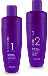 KIT BLONDE CARE - HOME CARE ( 2 Produtos )