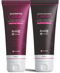 KIT SHAMPOO E CONDICIONADOR CARVO  - 300ML