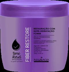 MÁSCARA TIME FIBER RESTORE RESTAURAÇÃO CAPILAR - 1KG