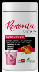 RENOVITA SHAKE SABOR MORANGO - 600G